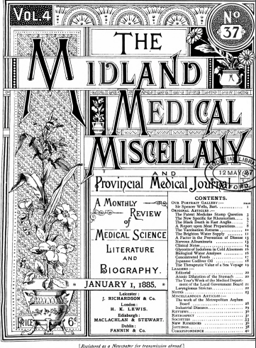 Medical Miscellany