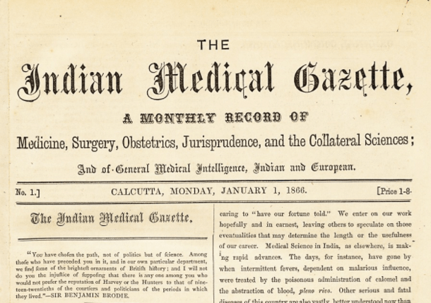 Indian Medical Gazette