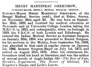 HMG Obituary